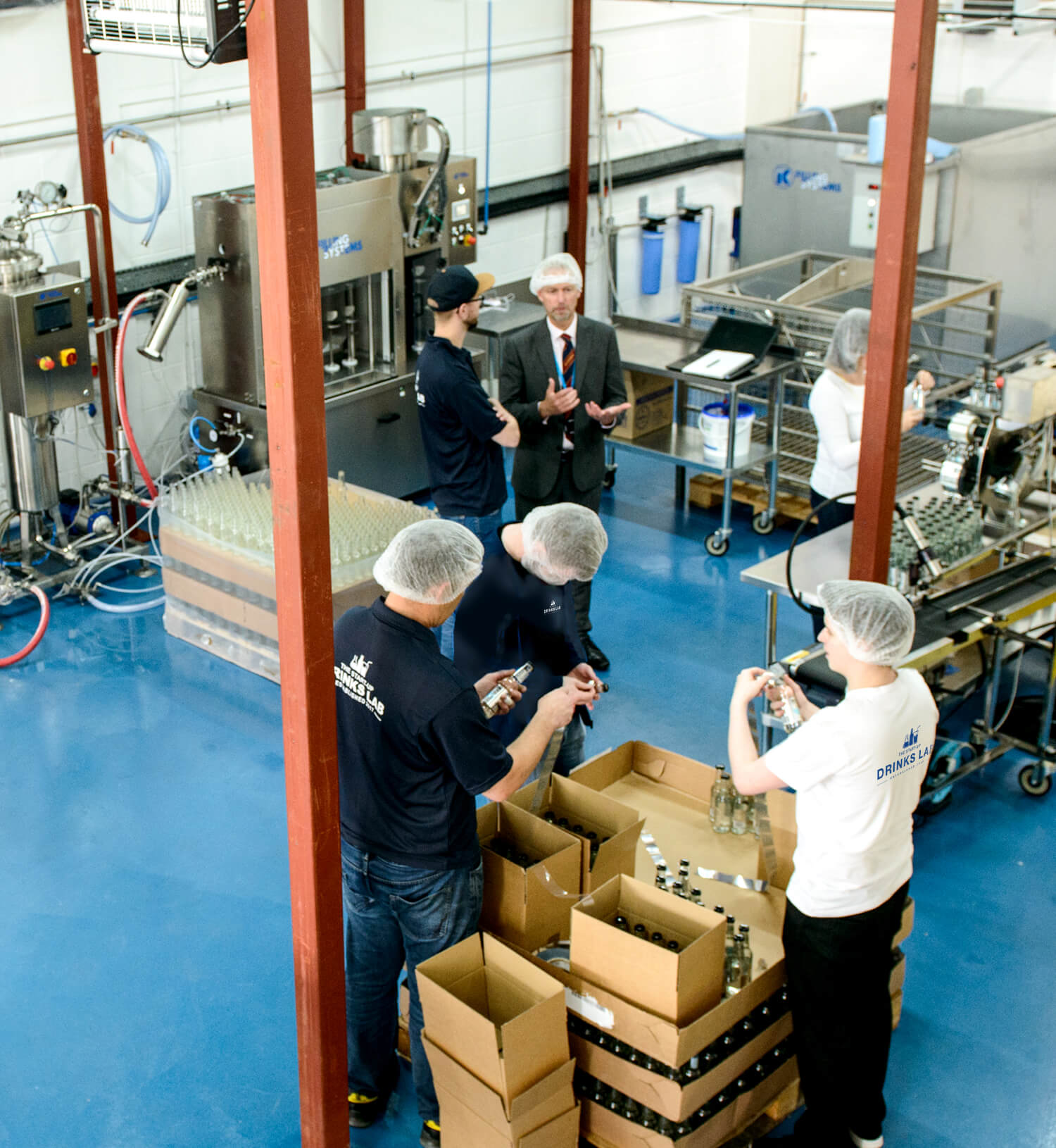The Start-Up Drinks Lab - Bottling, Scotland, UK, Ireland