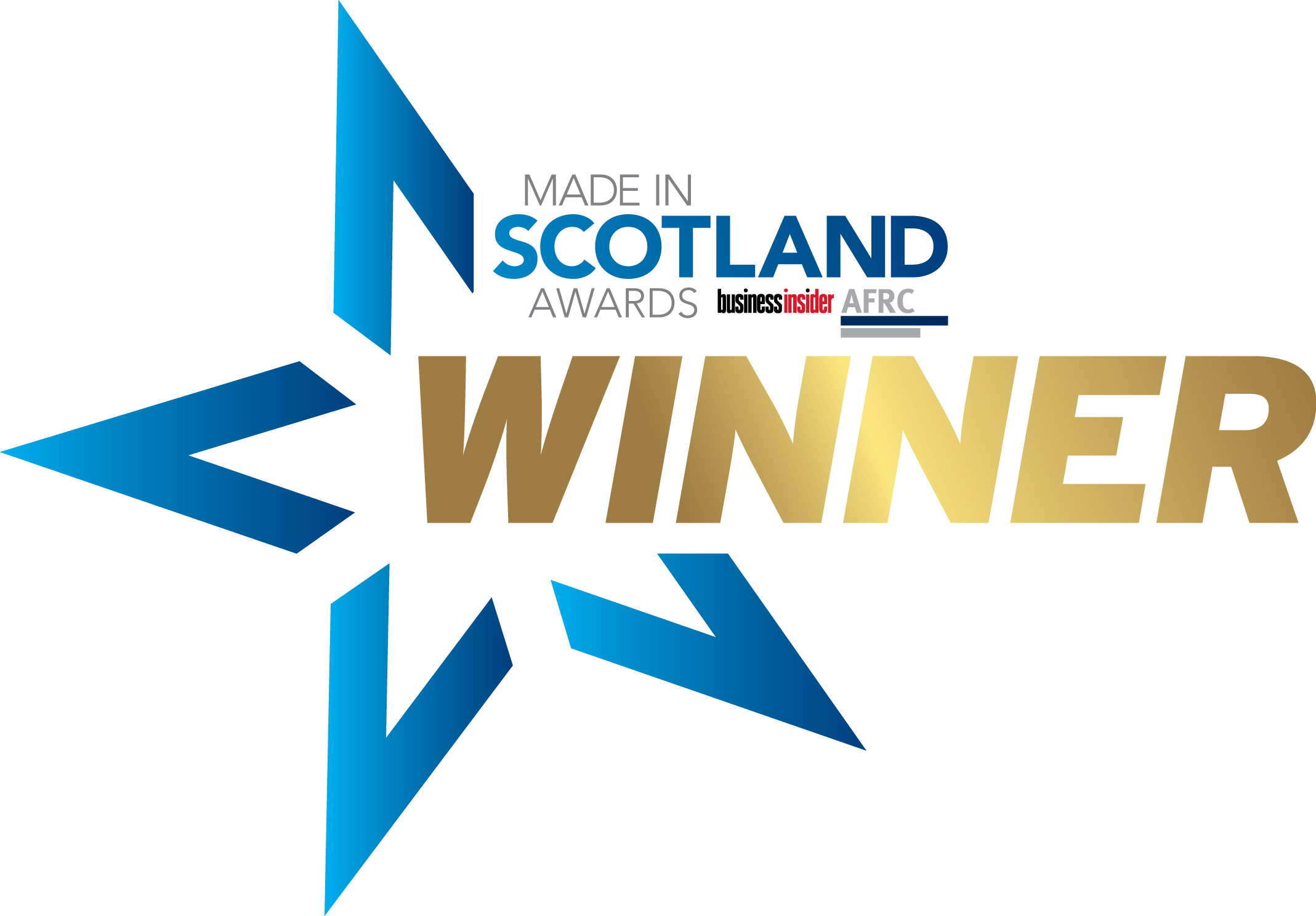 Made in Scotland Awards Winner Logo